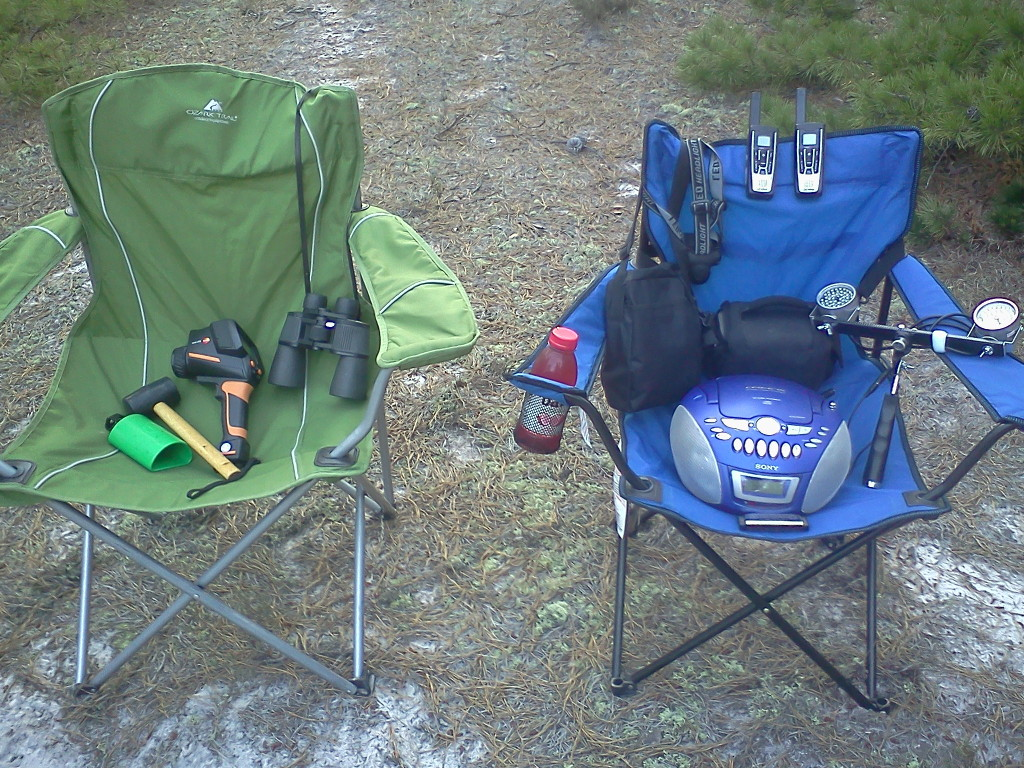 Some of the gear we use on our expeditions.